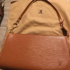 LV Epi Leather Pochette